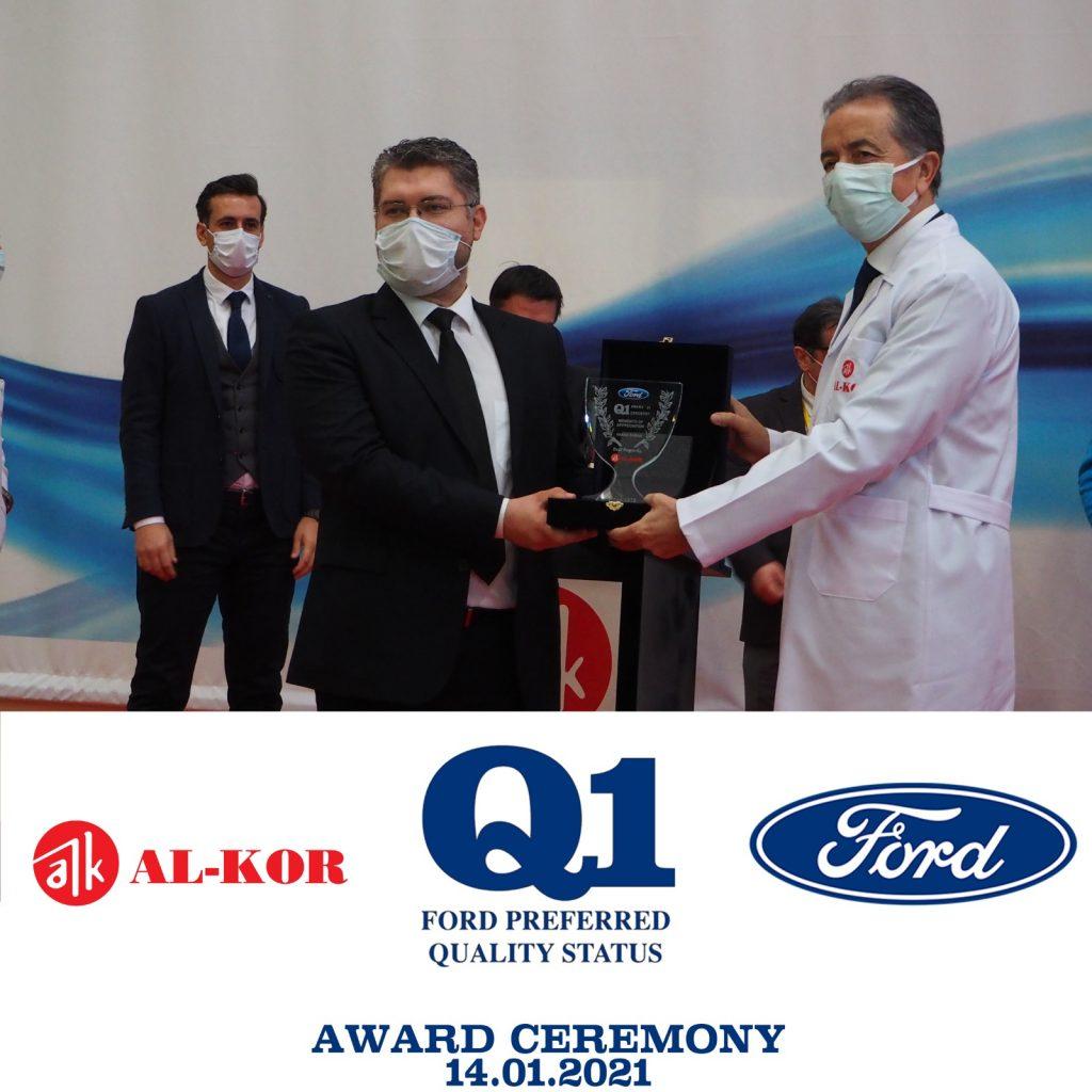 Ford Q1 Ödülü AL-KOR